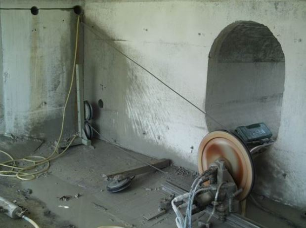 concrete wall cutting for Dublin